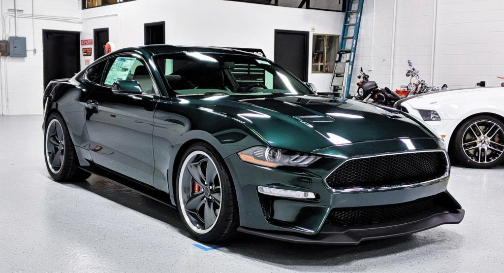 This 775 HP Ford Mustang Bullitt Steve McQueen Edition Has Covered Just 190 Miles