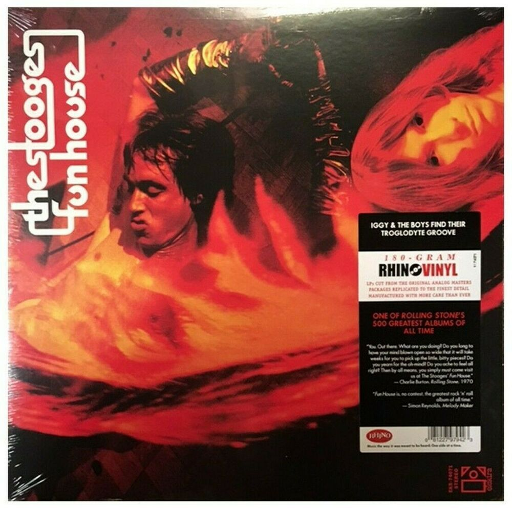 The Stooges Fun House Latest Pressing New Sealed Lp Vinyl Record Album Capitolcollectibles Com Stores Eb The Stooges Cool Album Covers Vinyl Record Album
