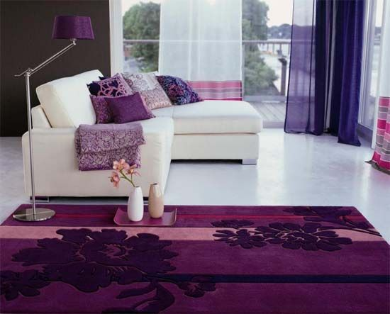 Gentil Decorating With The Color Purple