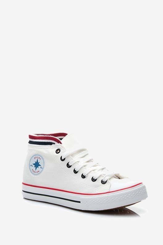 Trampki Wysokie Julia Biale High Top Sneakers Chuck Taylors High Top Converse Chuck Taylor High Top Sneaker