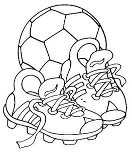 Espaco Educar Muitos Desenhos Da Copa Do Mundo Para Colorir