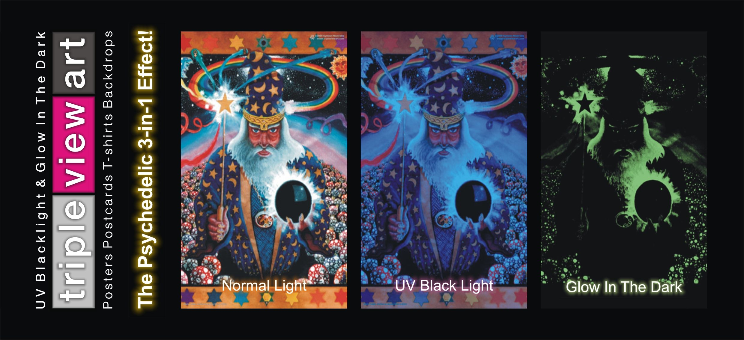 details about poster uv blacklight fluorescent glow in the dark