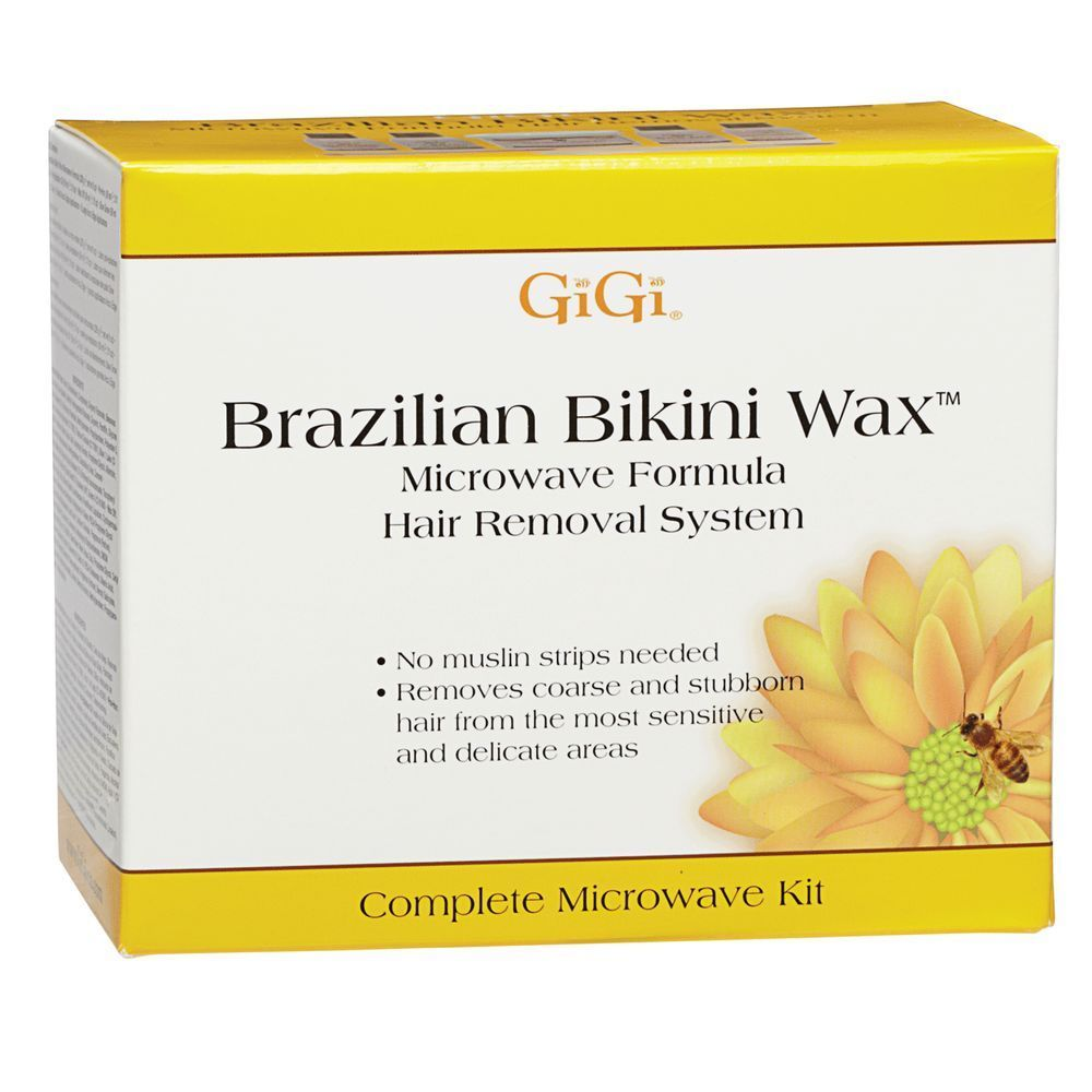 #waxing #ad GiGi Brazilian Hard Wax Kit is a complete hard wax kit specifically designed to remove coarse and stubborn hair from the bikini area