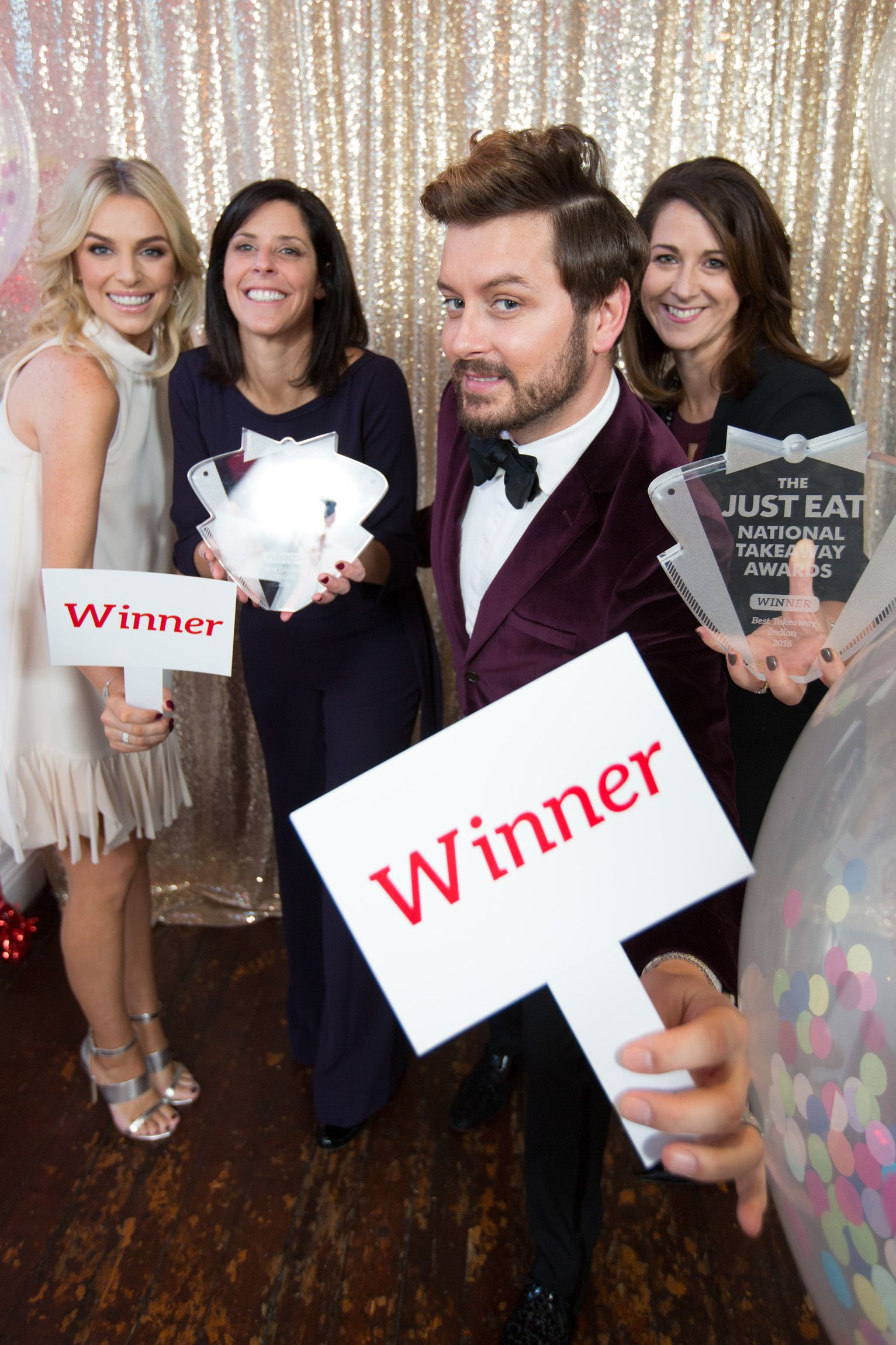 The JUST EAT National Takeaway Awards Winners 2016