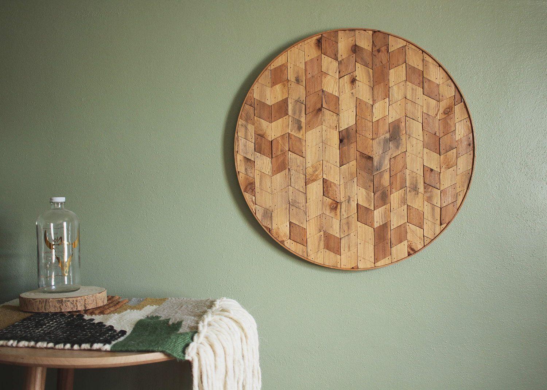 Rhombus round cedar wall art wall art pinterest cedar walls