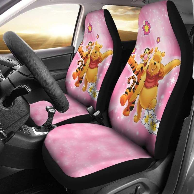 Winnie The Pooh Love Car Seat Covers   car