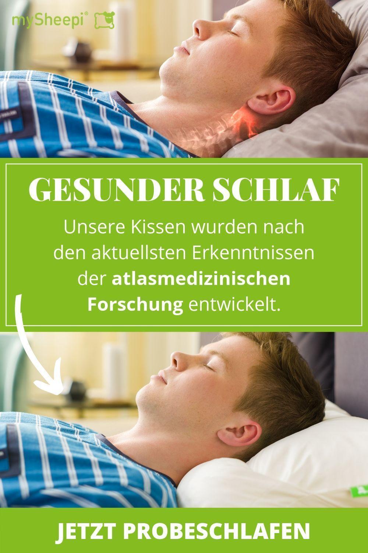 Gesunder Erholsamer Schlaf Mit Diesem Ergonomischen Kissen Das Mysheepi Nackenkissen Wurde Mit Experten Nackenschmerzen Motivation Abnehmen Nackenmuskulatur
