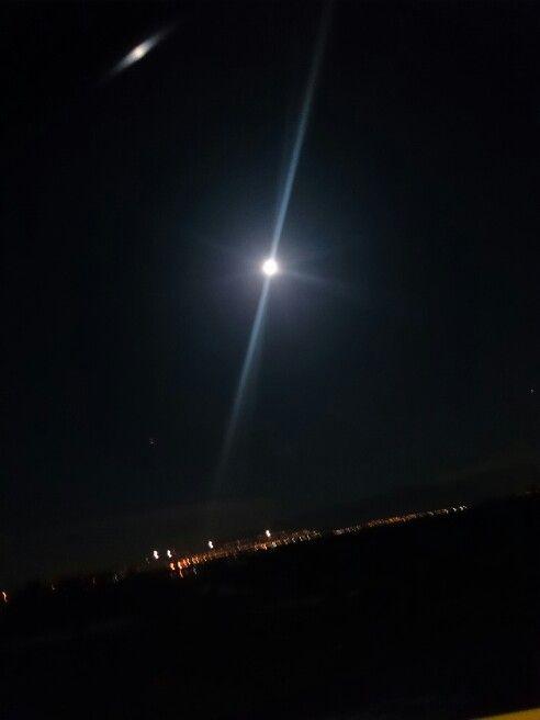 Así la Luna de hermosa en octubre 2014 .
