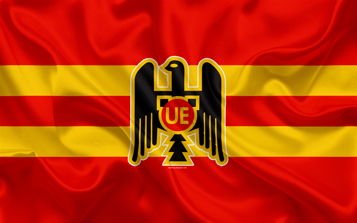 Download wallpapers Union Espanola, 4k, Chilean football
