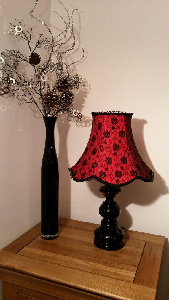 Handmade Beautiful Lampshade Boudoir Gothic By Boudoirlighting
