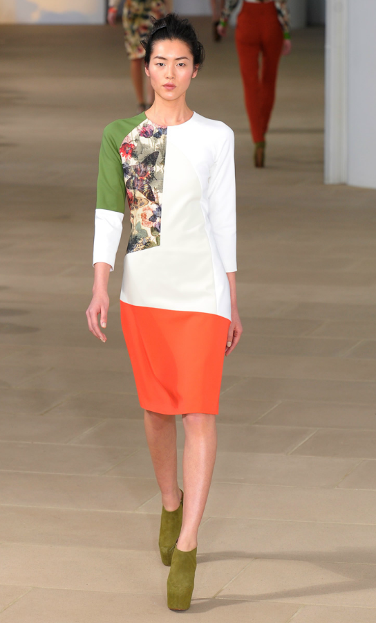 Preen presented a very feminine collection for their F/W 2012 show