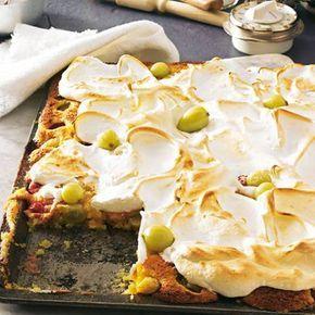 Stachelbeer Baiser Kuchen Rezept Pinterest Baiser Kuchen
