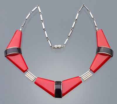 Jakob Bengel Art Deco Necklace. C.1932