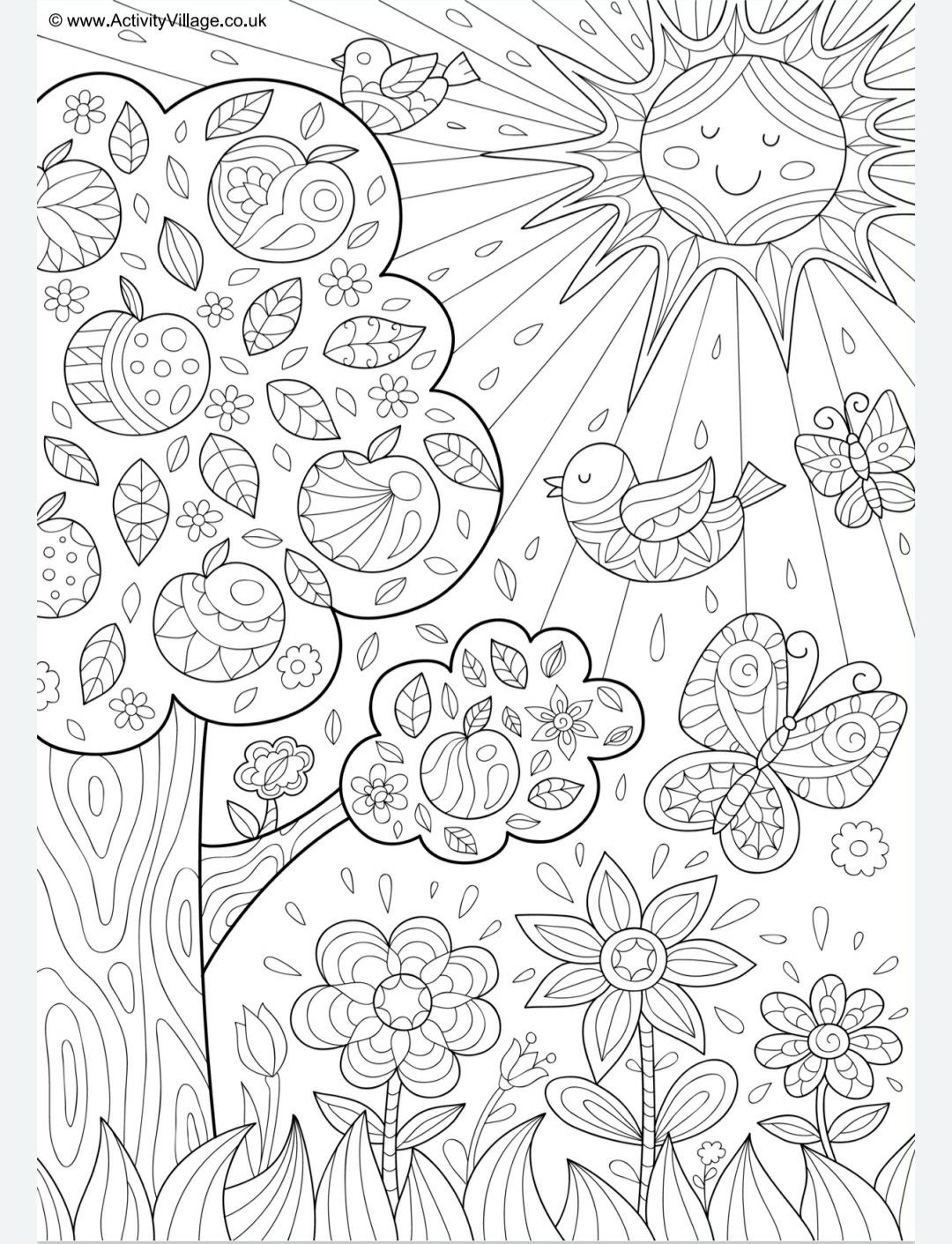 Pin By Bellazeng On Kids Coloring Colouring Pages Coloring Pages Doodle Coloring