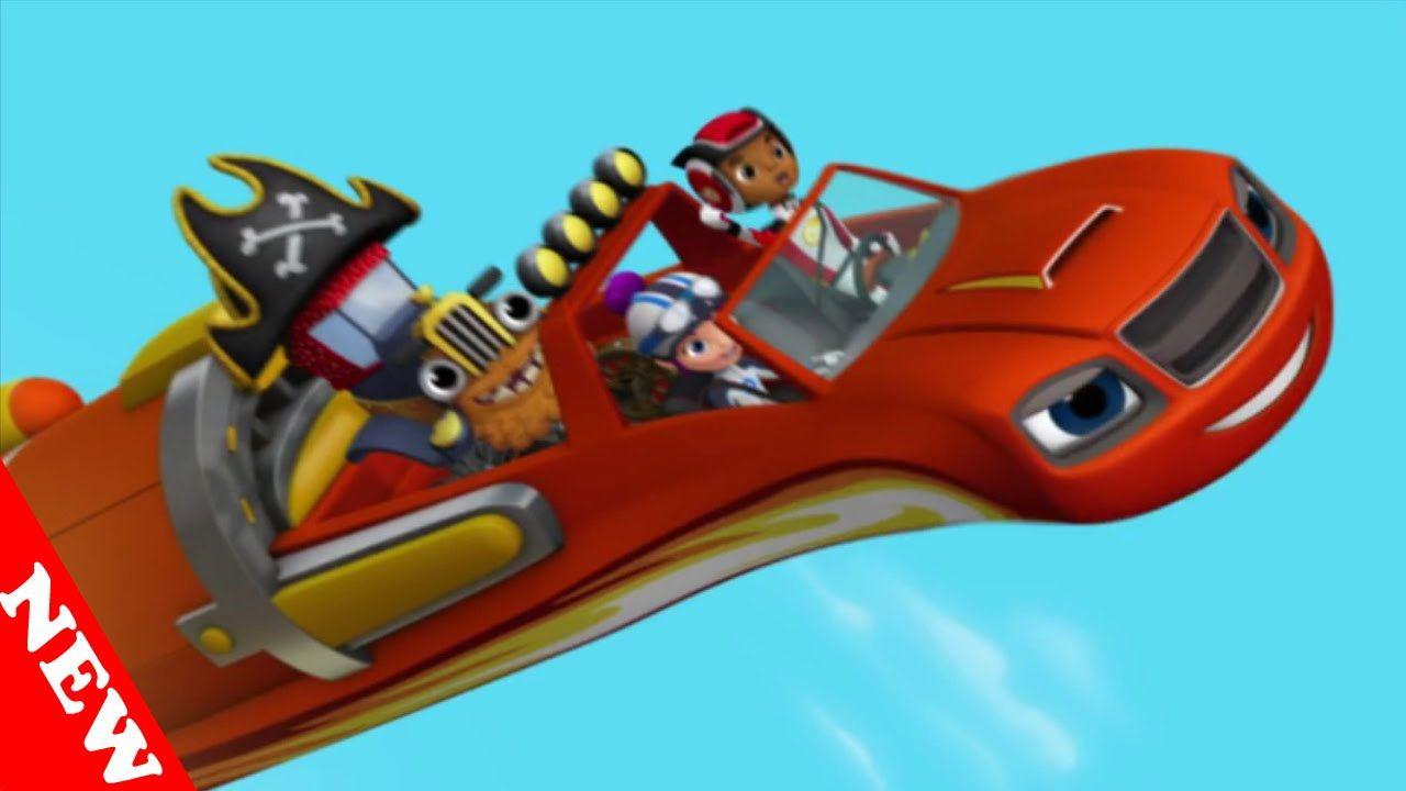 Blaze and the monster machines treasure track full for Blaze episodi