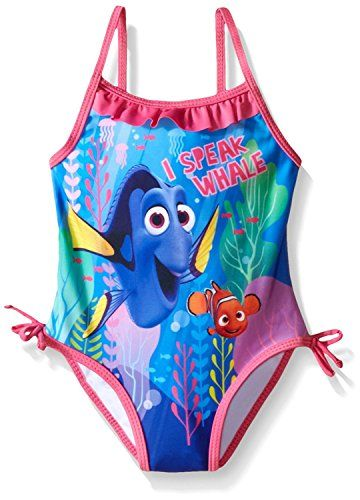 Blue Disney Girls Little Frozen Infant Swimsuit 18M
