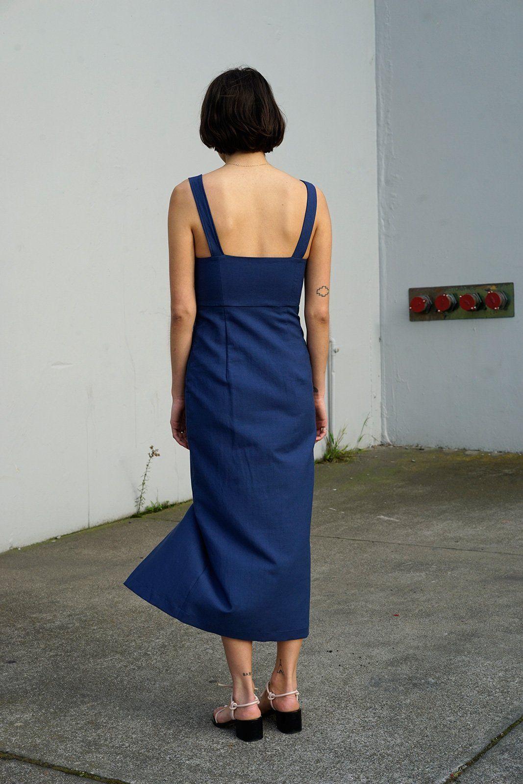0407fee2224 Bralette Dress in Blue Jean Baby