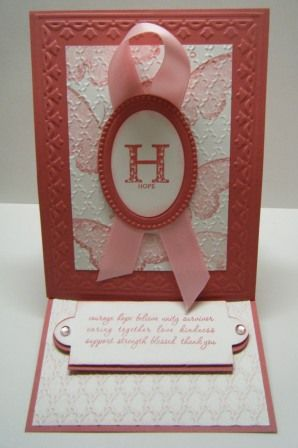 easel card using SU! Strength and Hope stamps