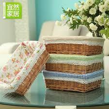 resultado de imagen para como hacer cestas de mimbre cuadradas - Como Hacer Cestos De Mimbre
