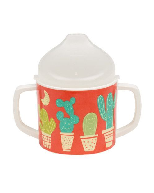 New Sugarbooger Sippy Cup With Hedgehog Print