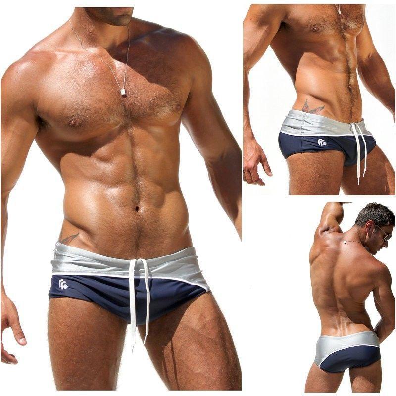 San Francisco 76564 fae27 Cheap 1 unids atractiva para hombre del traje baño trajes de ...
