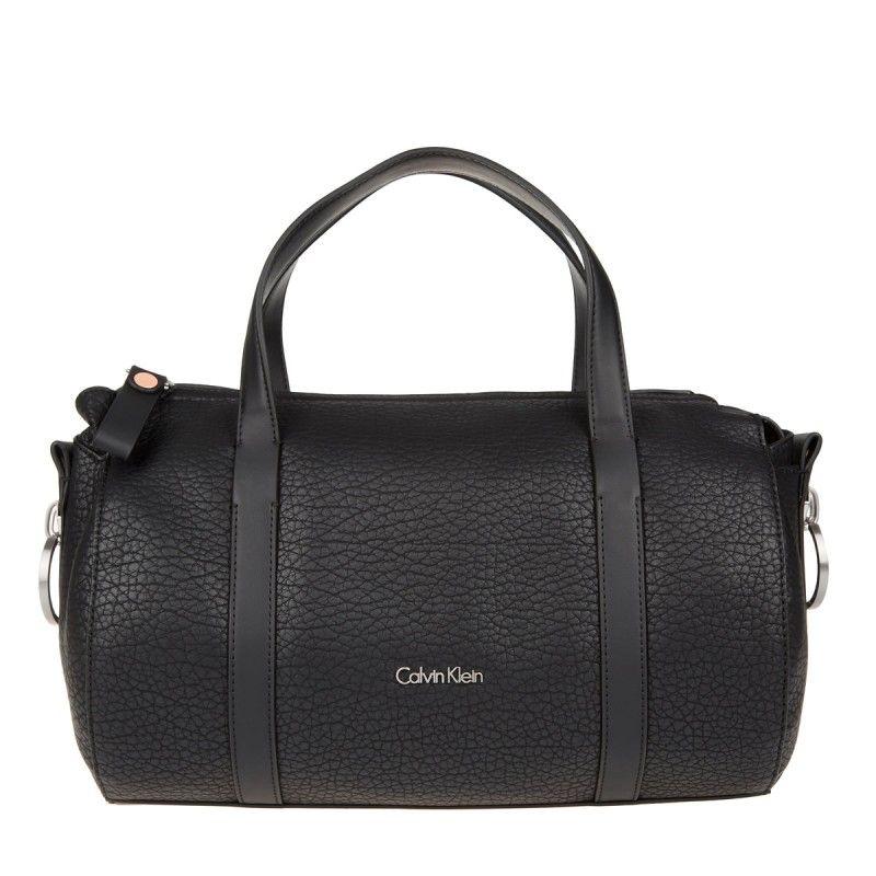 awesome Calvin Klein Tasche - Quinn Duffle Bag Black - in schwarz -  Henkeltasche für Damen