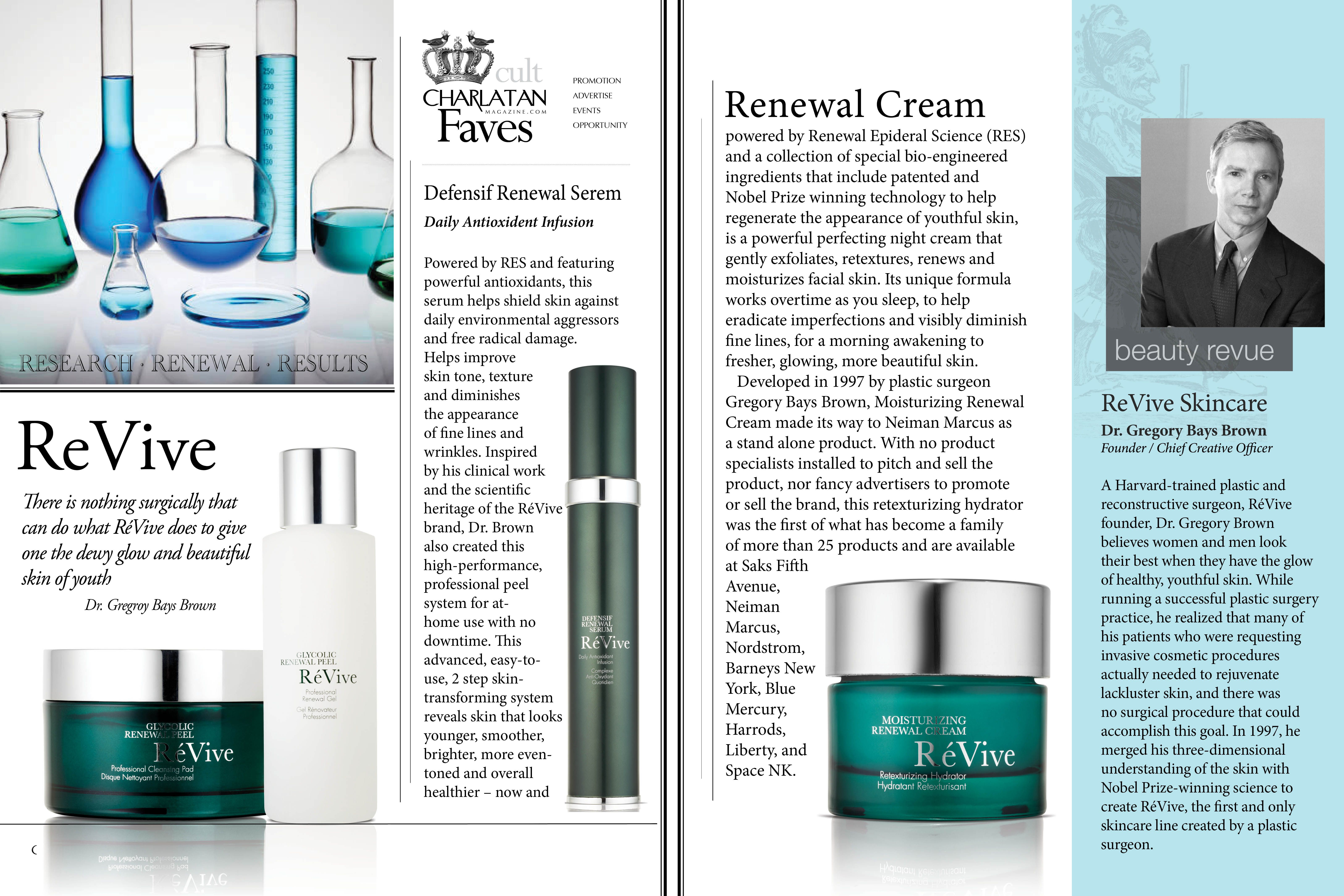 Research Renewal Results Revive Skincare Introduces The Epidermal Growth Factor Into The Science And Techn Revive Skincare Skin Care Epidermal Growth Factor