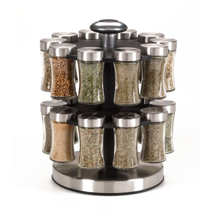 Bed Bath And Beyond Spice Rack Fair 20 Jar Estate Spice Rack  Housewares  Pinterest  Jar And Decorating Design Ideas