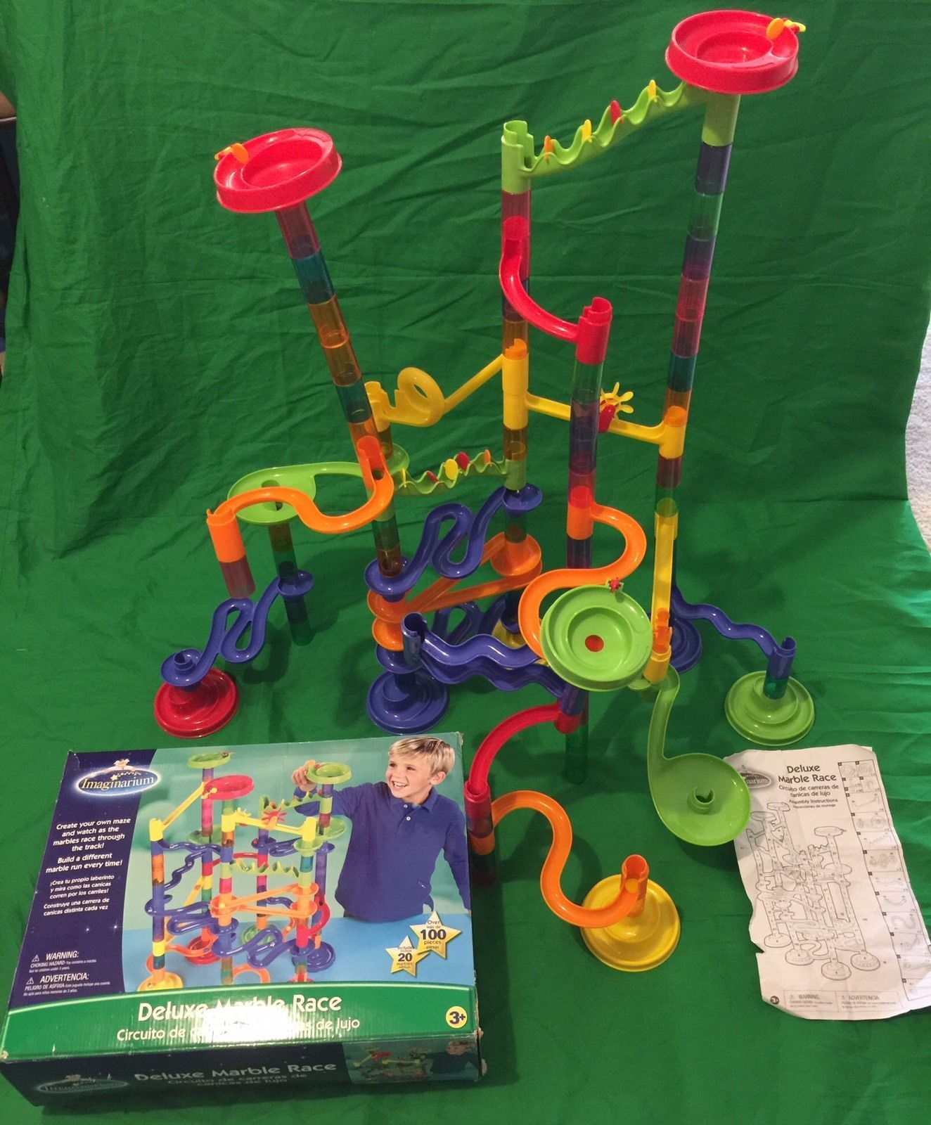 ToysRUs Imaginarium Deluxe Marble Race comes with over