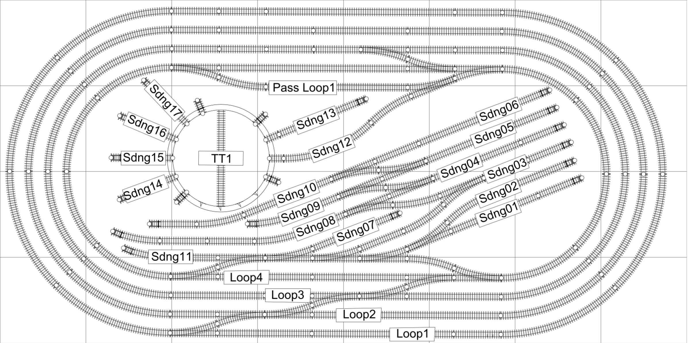 hornby forum - railmaster layout plans