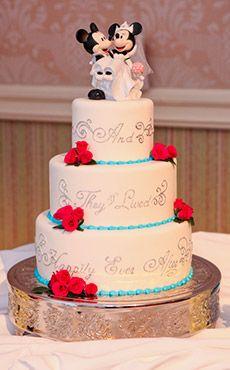 Inspiration Gallery - Wedding Cakes | Disney\'s Fairy Tale Weddings ...