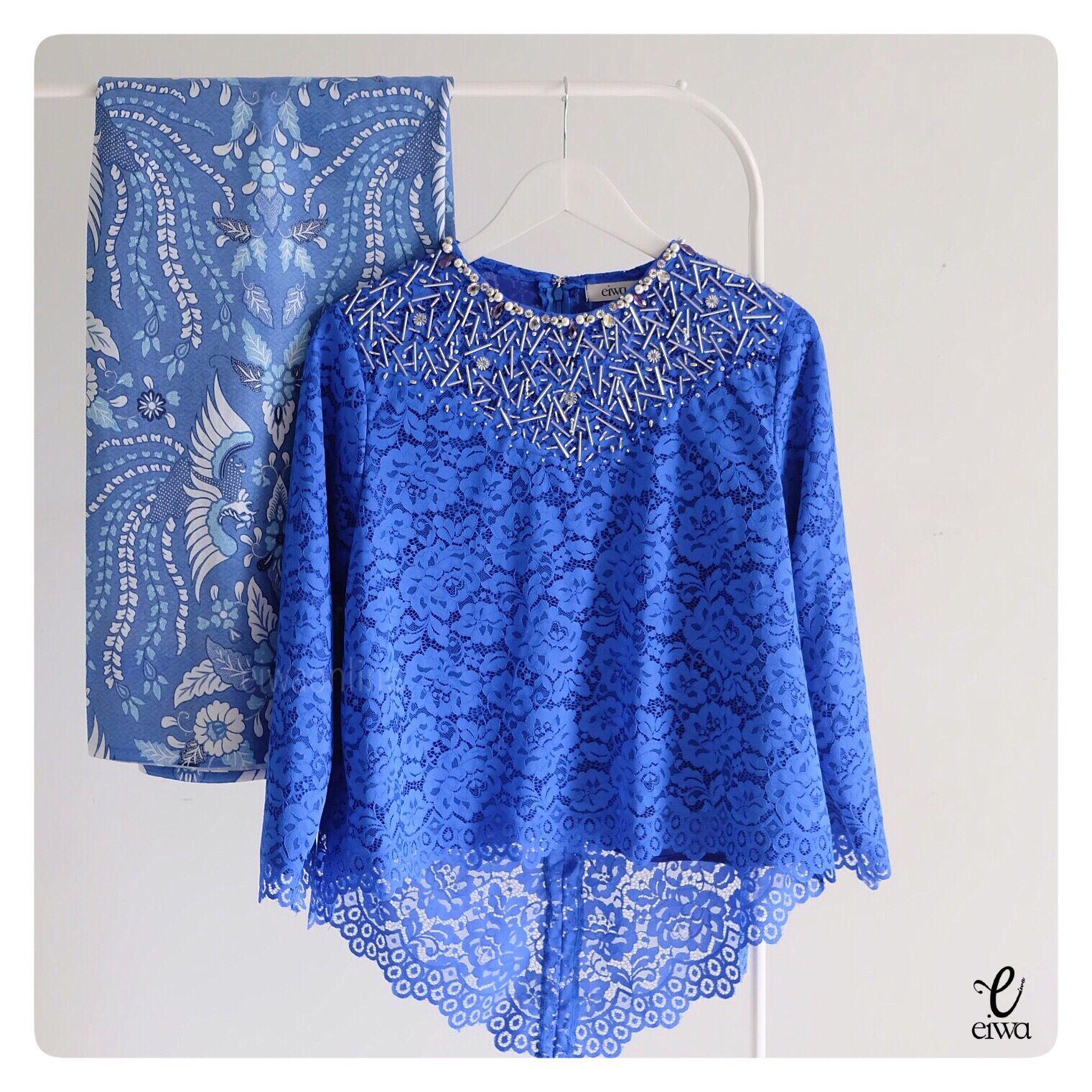 Model Baju Muslim Gamis Batik: Kebaya Indonesia Modern High Low