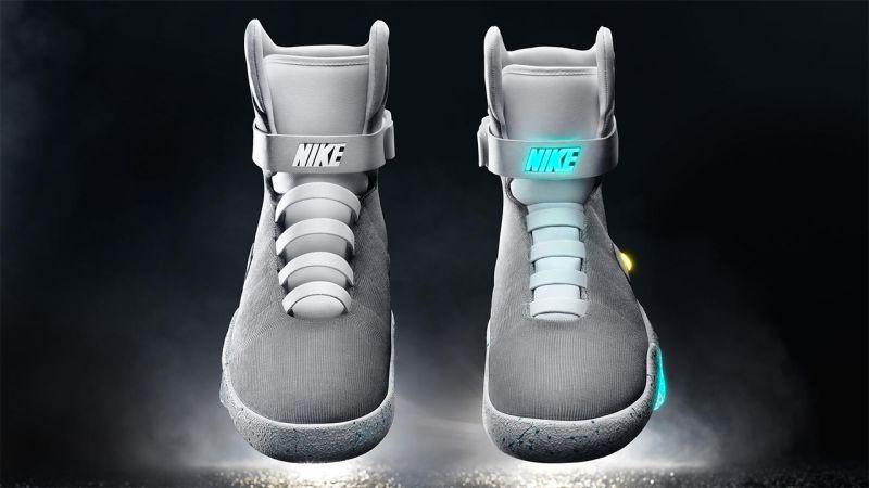 As Promised, Nike Finally Reveals BTTF II Air Mag Sneakers