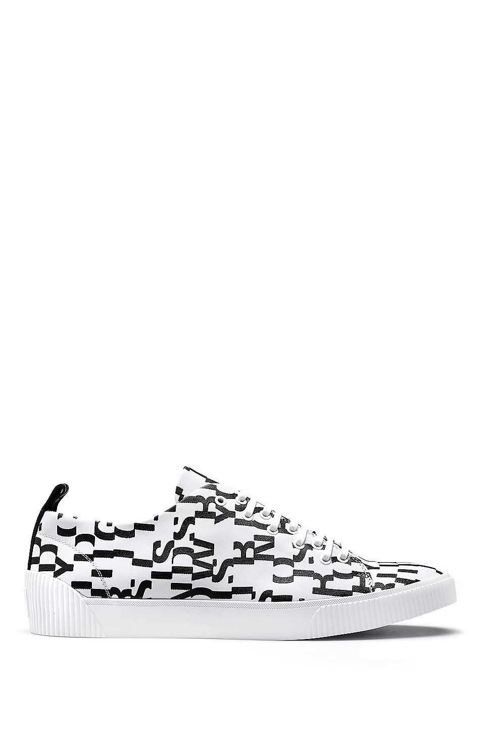 HUGO BOSS Lace-up trainers with