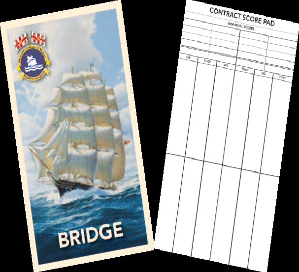 Bridge score cards please visit the website to see more for Charity motors bridge card