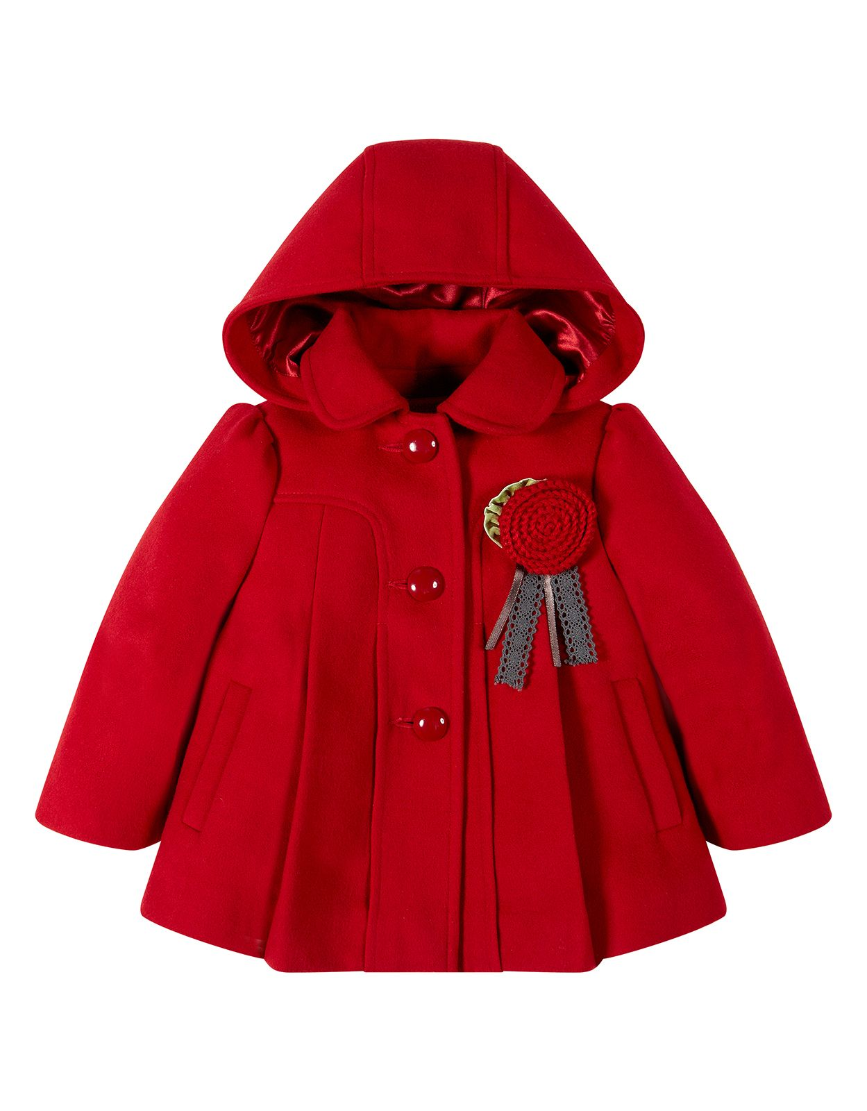 Baby Catherine Coat | Red | Monsoon | ❤ Για τη Ρέα ❤ | Pinterest ...
