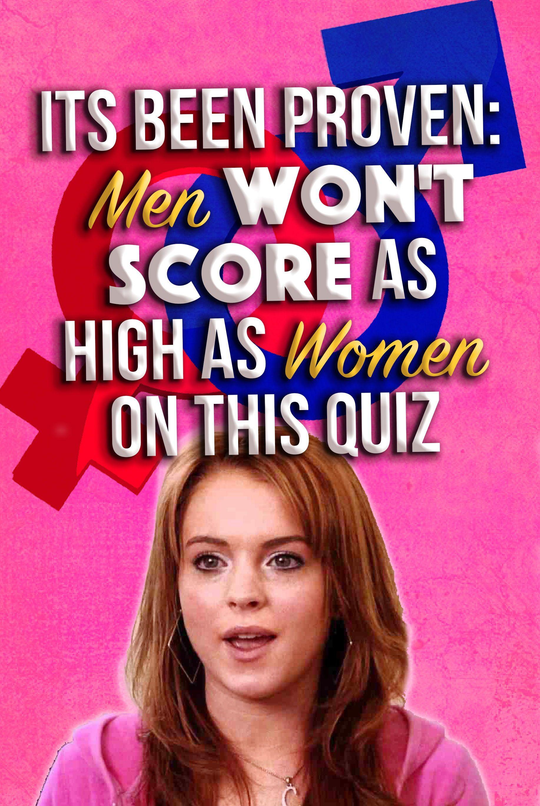 Quiz women Sex for