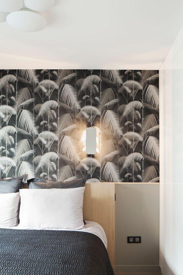 Maison paris triplex de style pour une famille id es pour la maison chambre parentale - Chambre parentale grise ...