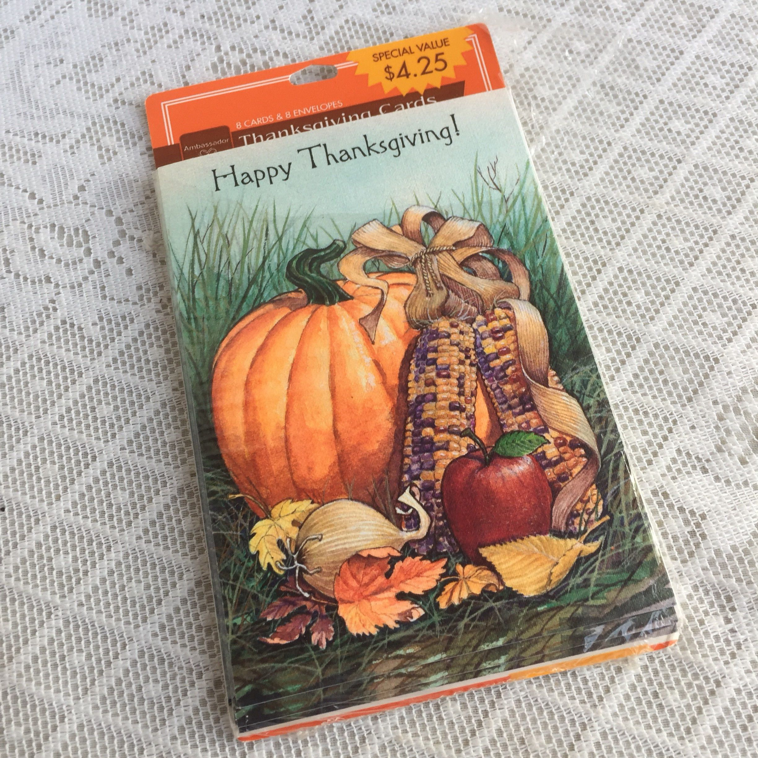 Vintage thanksgiving cards and envelopes vintage greeting cards vintage thanksgiving cards and envelopes vintage greeting cards set of seven made in usa by kristyandbryce Choice Image