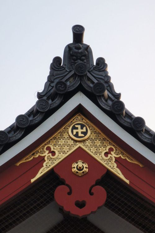Temple Roof Detail Roof Cladding Roof Detail Traditional Japanese Architecture
