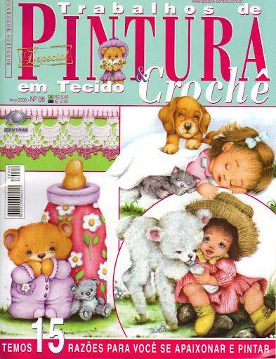 Trabalhos de pintura e crochê - Hechiceira Bruji - Álbuns da web do Picasa