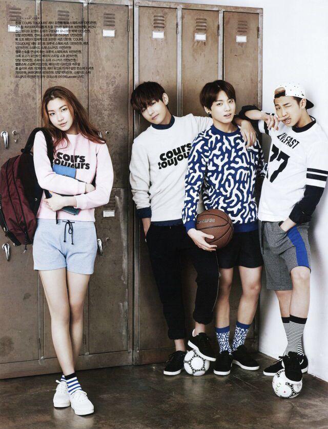 BTS schoolboys ❤️