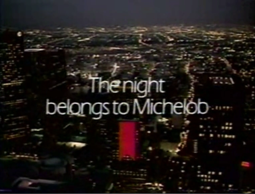 The Night (and #FlashbackFriday) belongs to Michelob!