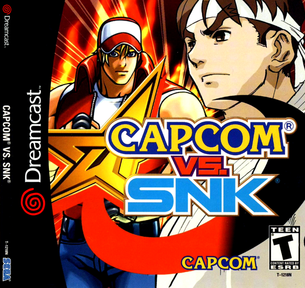 Capcom Vs Snk Sega Dreamcast Iso Free Download Retro Roms Capcom Vs Capcom Vs Snk Playstation