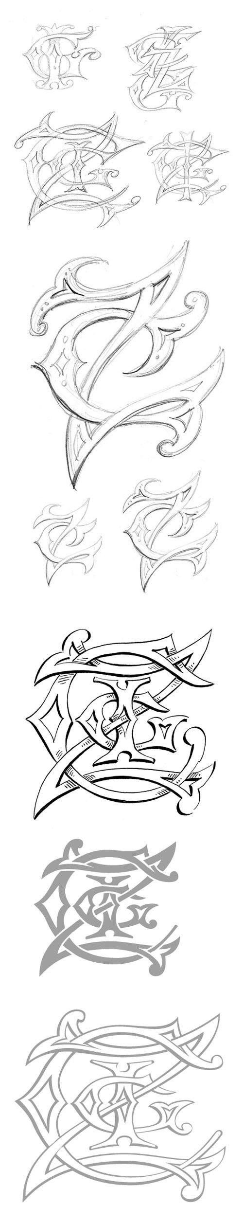 Wedding Design Ideas from Michelle Rago - The Four Letter Monogram