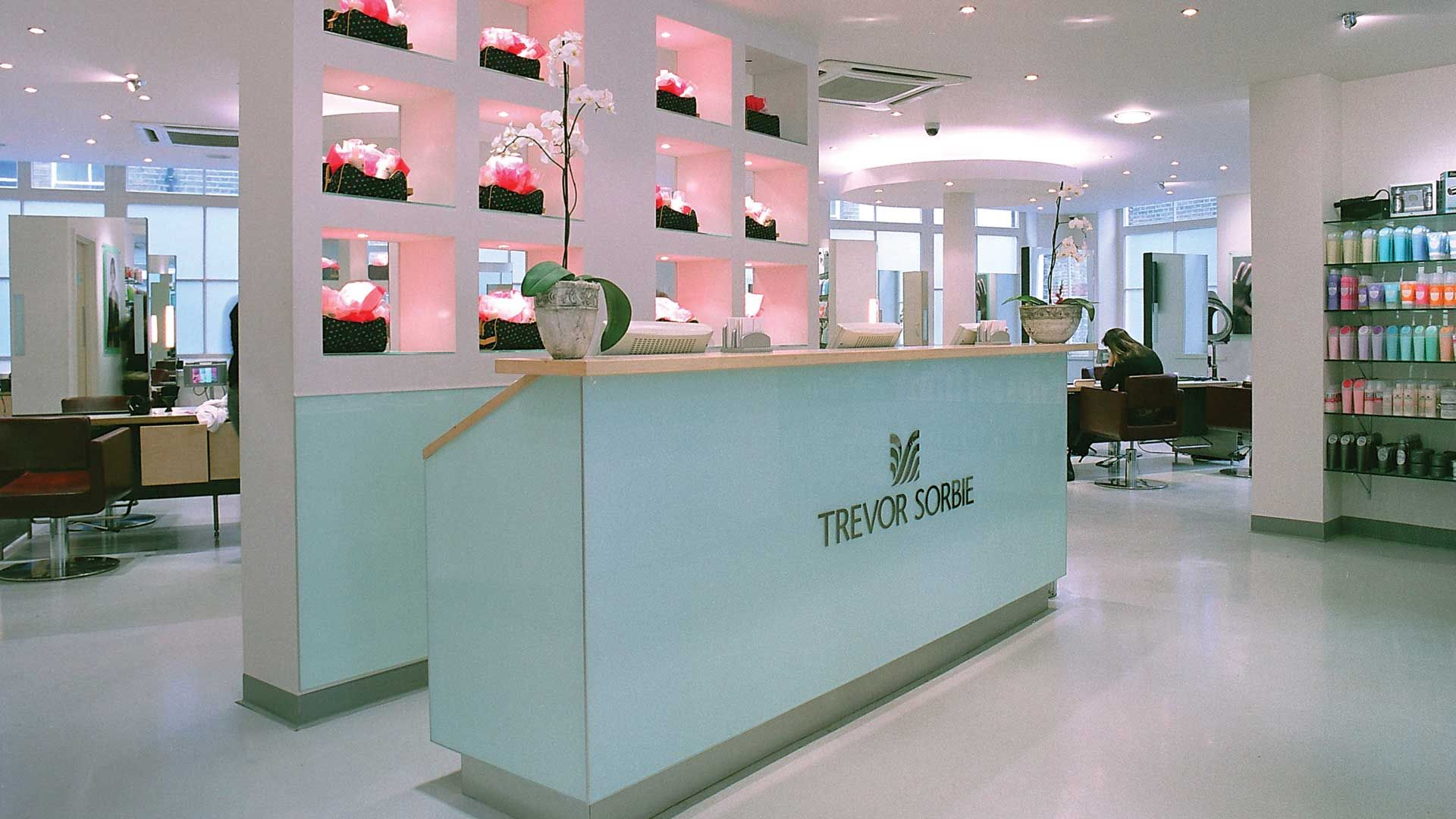 Covent Garden Hair Salon Trevor Sorbie International Salon Interior Design Rustic Salon Hair Salon Interior