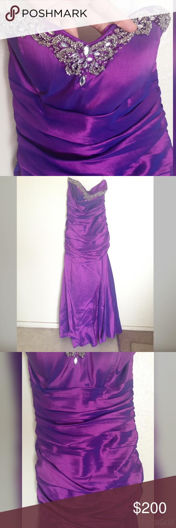 Purple sweetheart corset prom dress corset prom dresses mermaid