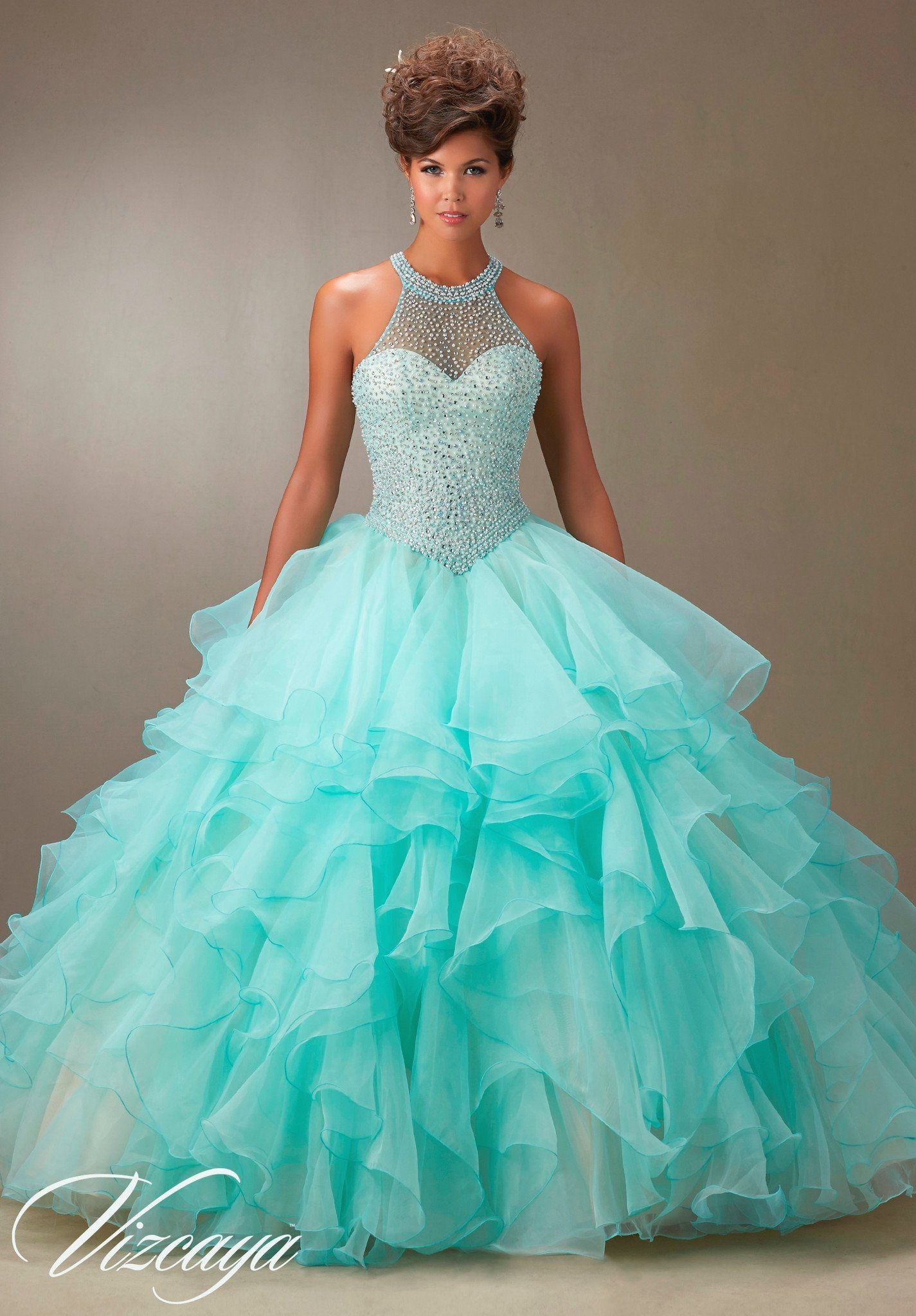 Mori Lee Quinceanera Dress 89074 | Gowns | Pinterest