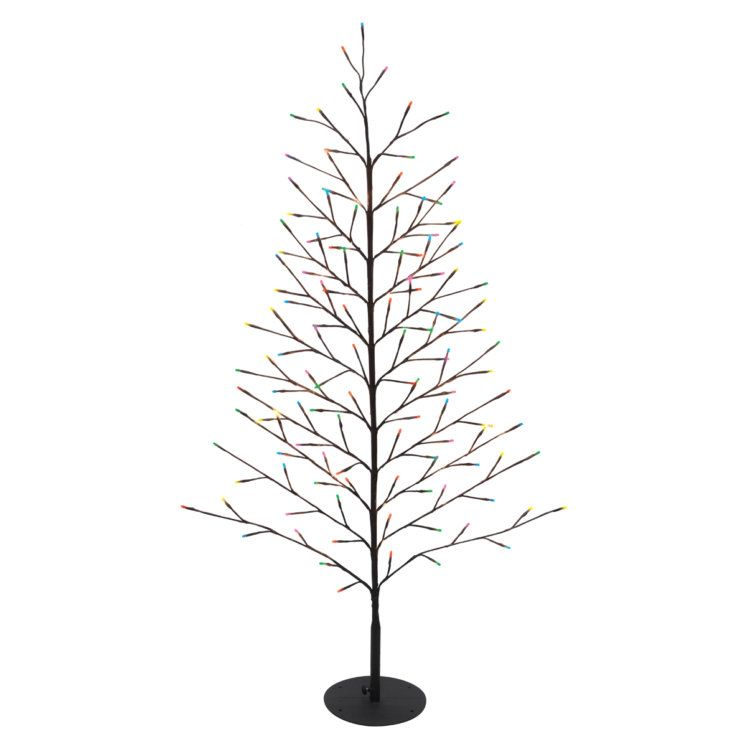 50 In Multi Color Led Twinkling Bare Branch Wall Tree At Fleet Farm Multi Color Led Tree Wall Winter Christmas