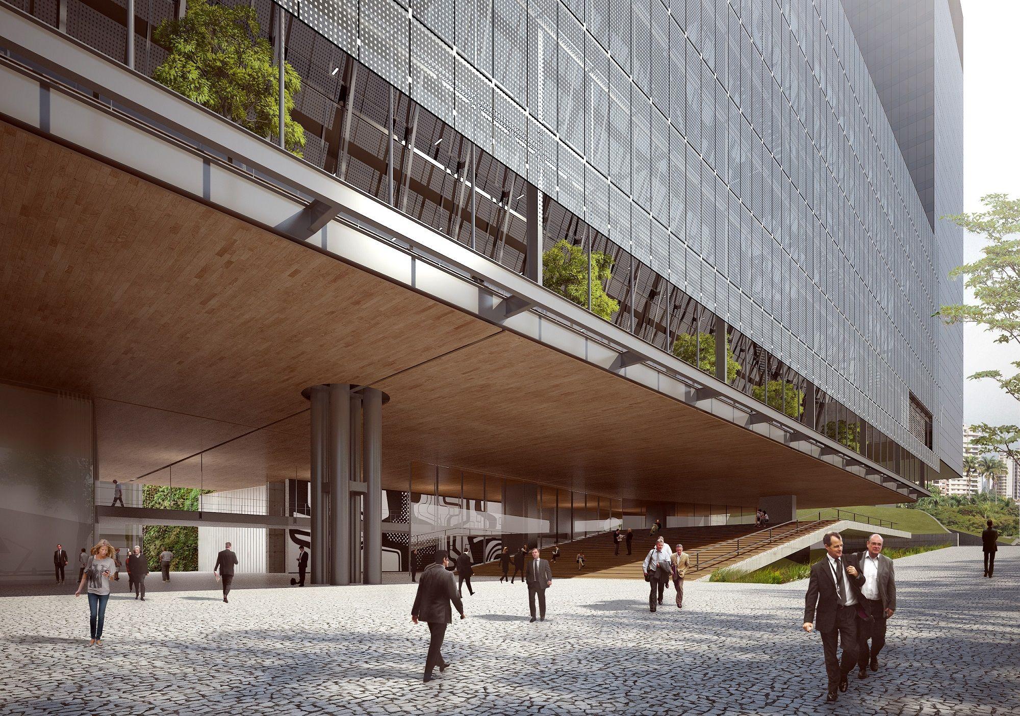Edifício Anexo BNDES - São Paulo Arquitetos